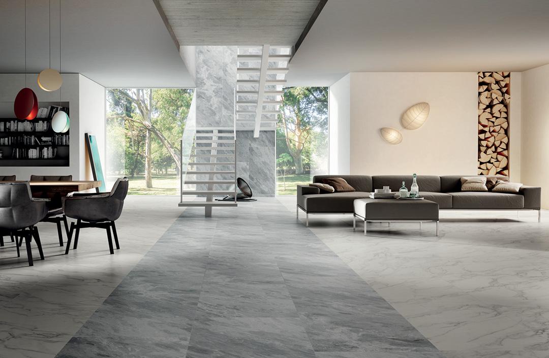 Loft marble effect ceramics porcelain stoneware grey white
